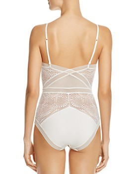 Calvin Klein - CK Black Endless Unlined Lace Bodysuit