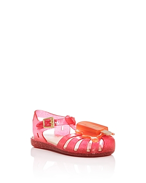 Mini Melissa Girls' Glitter Popsicle Sandals - Walker, Toddler