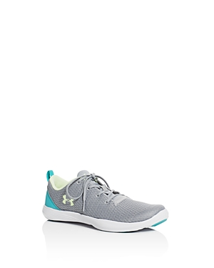 Under Armour Girls Street Precision Lace Up Sneakers  Toddler Little Kid