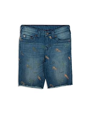 True Religion Boys' Surf Print Geno Shorts - Sizes 2-7