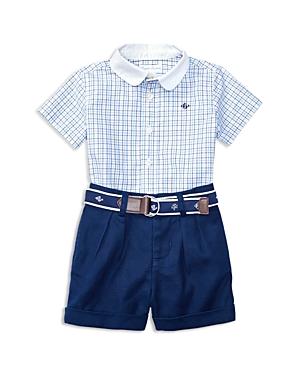 Ralph Lauren Childrenswear Boys Button Down  Shorts Set  Baby