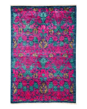 Solo Rugs Arts and Crafts Area Rug, 4' x 5'10 2544757