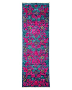 Solo Rugs Arts and Crafts Runner Rug, 2'7 x 7'10 2544767