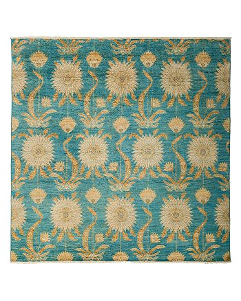 """Solo Rugs - Eclectic Area Rug, 8' x 8'2"""""""