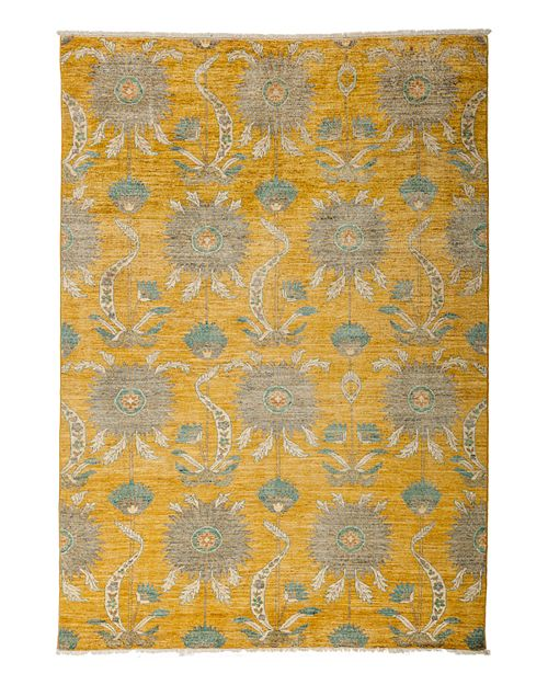 """Solo Rugs - Eclectic Area Rug, 6'2"""" x 8'10"""""""