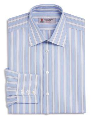 Turnbull & Asser Multi Stripe Classic Fit Dress Shirt