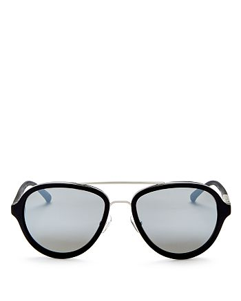 3.1 Phillip Lim - Women's Mirrored Aviator Sunglasses, 56mm