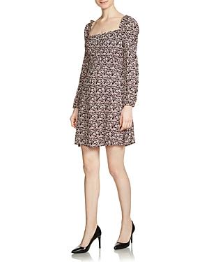 Maje Ranael Printed Mini Dress