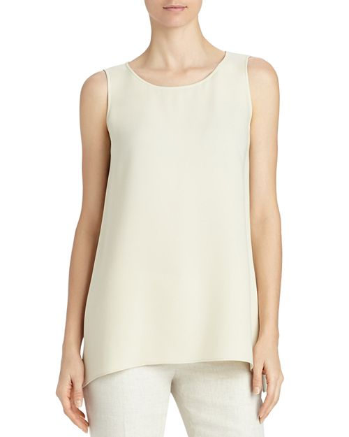 Lafayette 148 New York - Ruthie Sleeveless Silk Blouse
