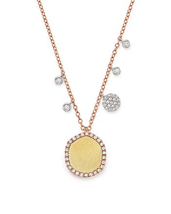 Meira T - 14K Gold Pendant Necklace with Diamonds