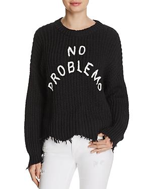 Wildfox No Problemo Distressed Sweater