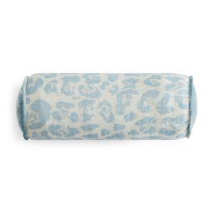Kevin O'Brien Studio Leopard Decorative Bolster Pillow, 6 x 17