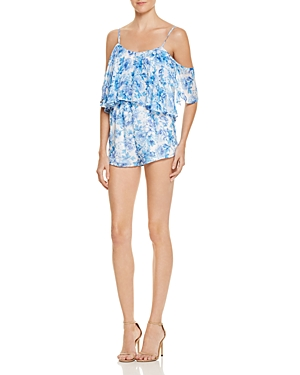 Show Me Your MuMu Quinn Ruffled Romper