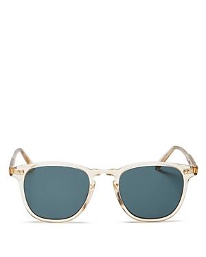 Garrett Leight Brooks Champagne Sunglasses, 47mm