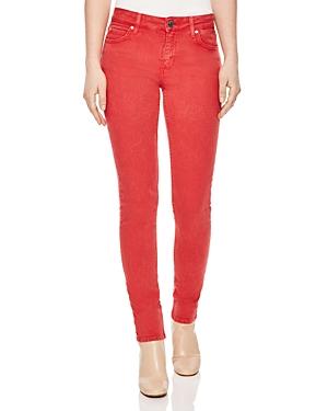 Sandro Cover Skinny Jeans in Red