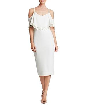 Dress the Population Beth Cold-Shoulder Dress