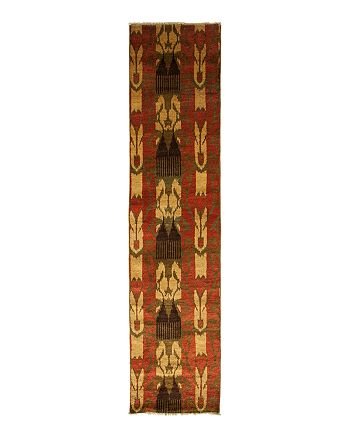 """Bloomingdale's - Ikat Collection Oriental Rug, 2'4"""" x 10'2"""""""