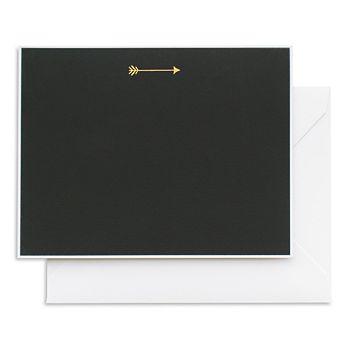 Sugar Paper - Black and Gold Arrow Notecard Set