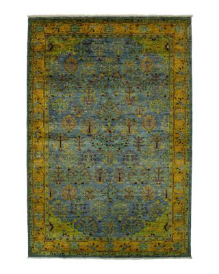 "Eclectic Collection Oriental Area Rug, 6'2"" x 9'5"""