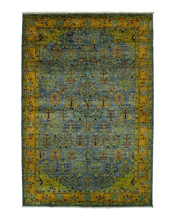 """Bloomingdale's - Eclectic Collection Oriental Area Rug, 6'2"""" x 9'5"""""""