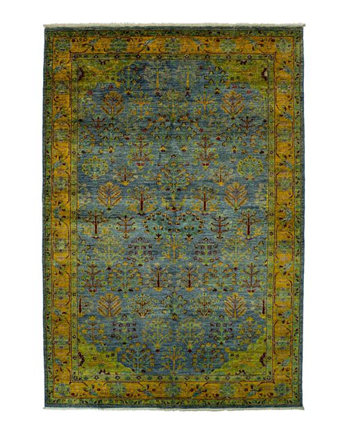 "Bloomingdale's - Eclectic Collection Oriental Area Rug, 6'2"" x 9'5"""