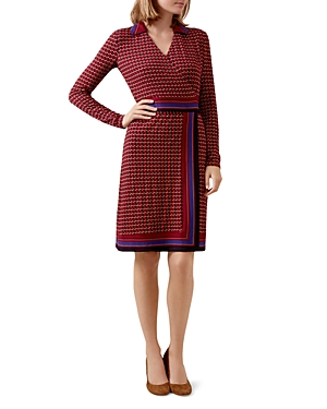 Hobbs London Frida Printed Wrap Dress