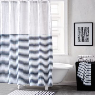 $DKNY Parsons Stripe Shower Curtain - Bloomingdale's