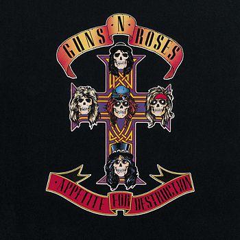 Baker & Taylor - Guns N' Roses, Appetite for Destruction Vinyl Record