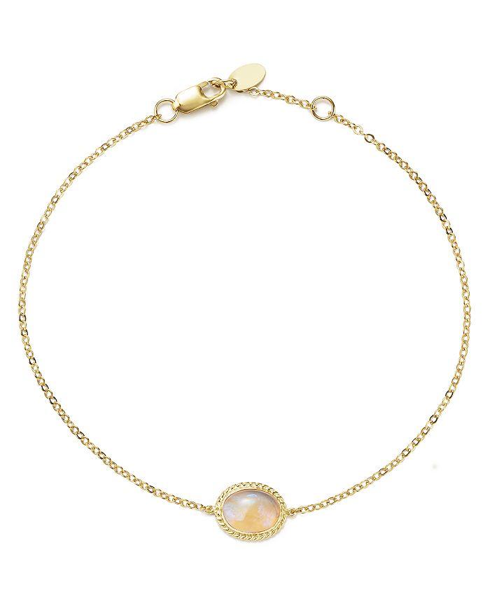 Bloomingdale's - Opal Oval Bracelet in 14K Yellow Gold - 100% Exclusive