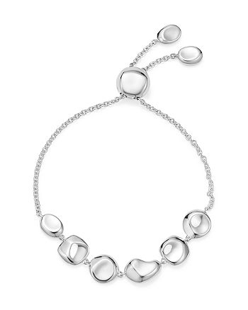 IPPOLITA - Sterling Silver Glamazon® Pebble and Chain Bracelet