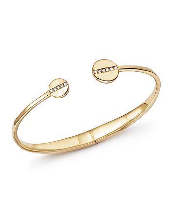 IPPOLITA - 18K Yellow Gold Senso™ Hinge Bracelet with Diamonds