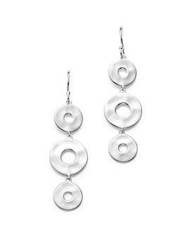 IPPOLITA - Sterling Silver Senso™ Linear Disc Earrings
