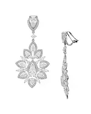 Nadri Pave Burst Clip-On Earrings