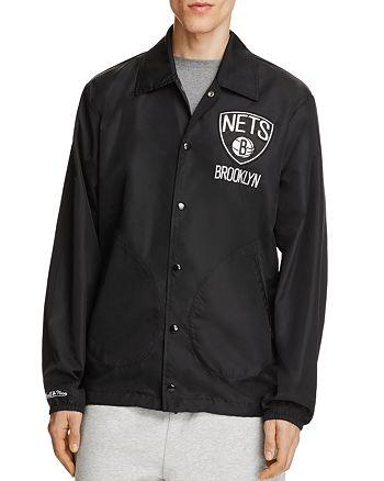 MITCHELL & NESS - Brooklyn Nets NBA Coach Jacket - 100% Exclusive