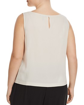 Eileen Fisher Plus - System Silk Cropped Shell