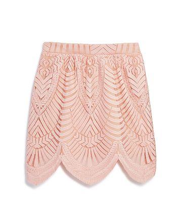 Bardot Junior - Girls' Lace Detail Skirt, Big Kid - 100% Exclusive