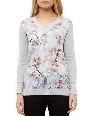 Ted Baker Floral Print Sweater