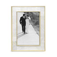 "Reed & Barton Mother-of-Pearl Gold Frame, 5"" x 7"" - Bloomingdale's_0"