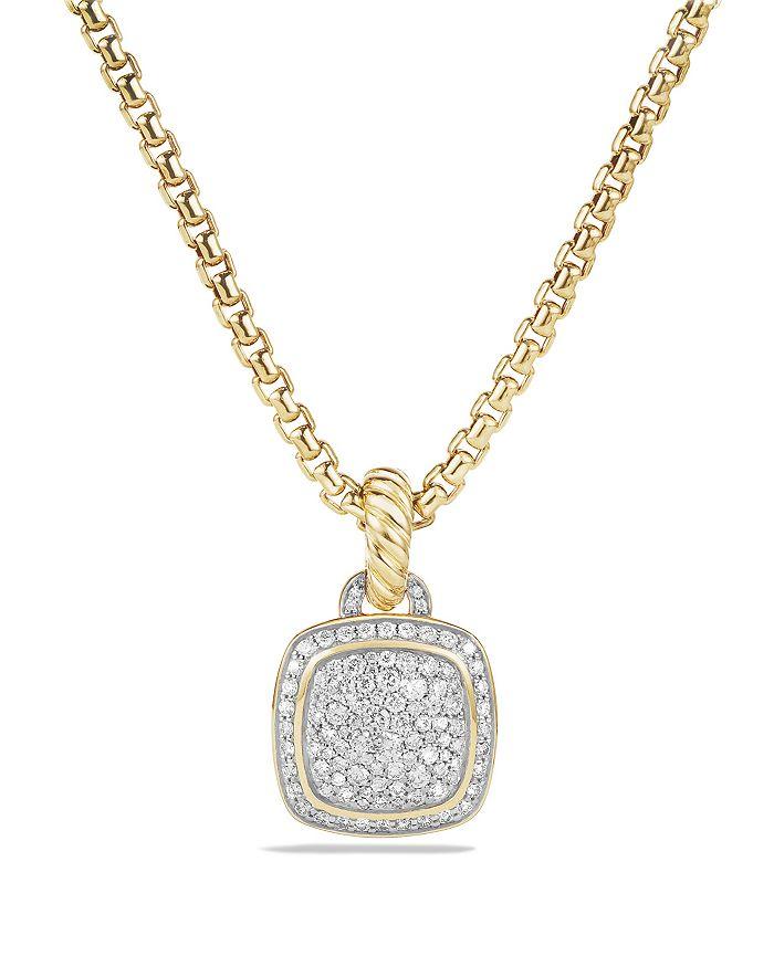 David Yurman - Albion Pendant with Diamonds in 18K Gold