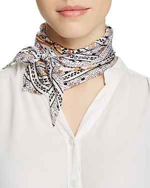 Echo Ditzy Patchwork Diamond Scarf