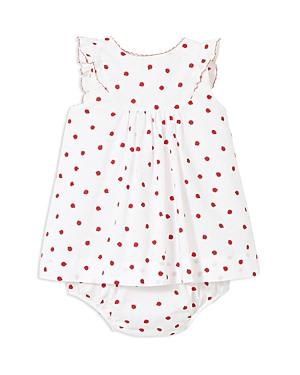 Jacadi Girls' Ladybug Dress & Bloomers Set - Baby
