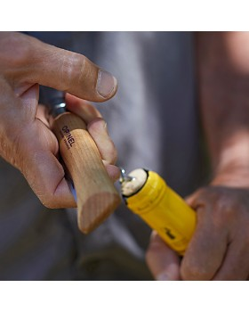 Opinel - Corkscrew Folding Knife