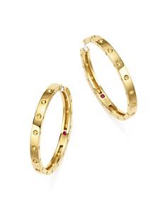 Roberto Coin Hoop Earrings Bloomingdale S
