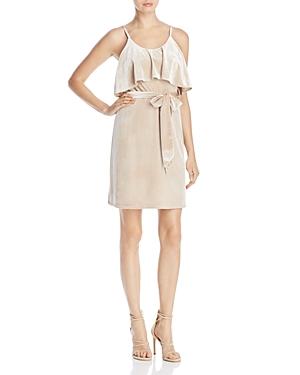 Elliatt Strappy Stretch Velvet Dress