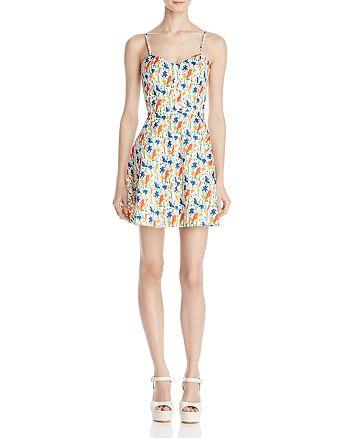 Alice and Olivia - Nella Button-Front Dress