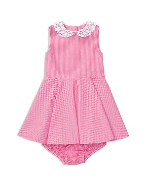 Ralph Lauren Childrenswear Girls Poplin Gingham Dress  Bloomers Set  Baby