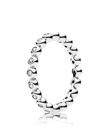 PANDORA - Ring - Sterling Silver & Cubic Zirconia For Eternity