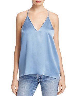 Cami Nyc Emily Lace Racerback Silk Camisole