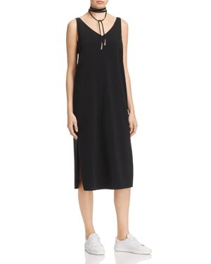 Dylan Gray Crepe V-Neck Dress - 100% Exclusive