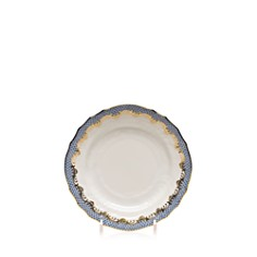 Herend Fishscale Light Blue Bread & Butter Plate - Bloomingdale's_0